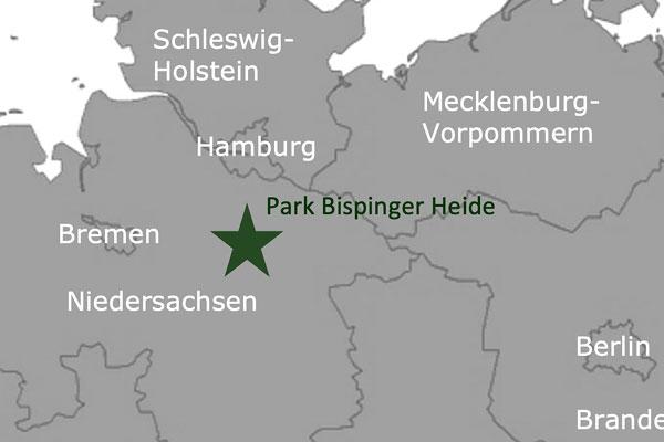 Die Center Parcs Deutschland Karte Alle Sechs Center Parcs Auf