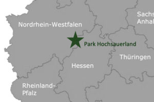 Center Parcs Park Hochsauerland Deutschland Karte