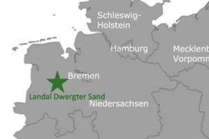 Landal GreenParks: Dwergter Sand - Oldenburger Münsterland Karte