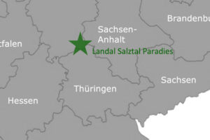 Landal Salztal Paradies - Karte