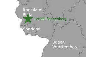 Landal GreenParks Sonnenberg Karte