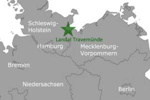 Ferienpark Landal GreenParks Travemuende Karte