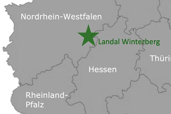 Ferienpark Landal GreenParks Winterberg Karte