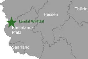Landal GreenParks Wirftal Deutschland Karte