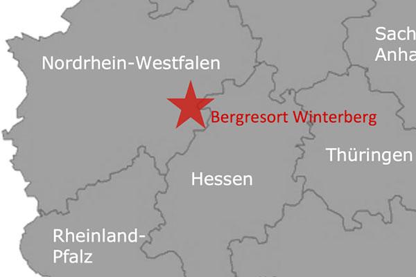 Ferienpark Roompot Bergresort Winterberg Deutschland Karte