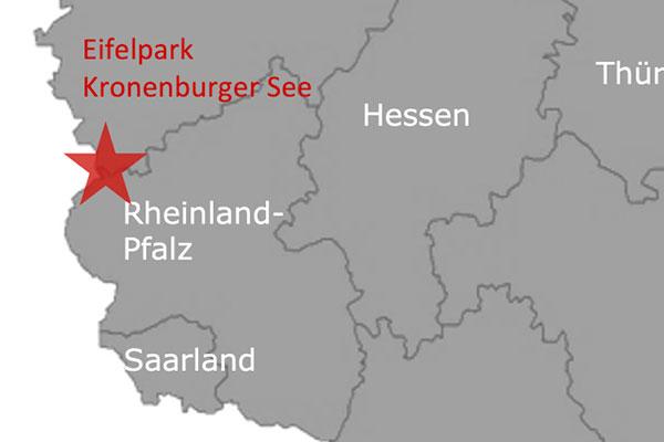 Ferienpark Roompot Kronenberger See Deutschland Karte