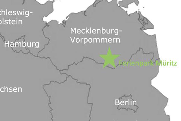 Dein Ferienhaus Müritz gibt es im All Seasons Ferienpark Müritz